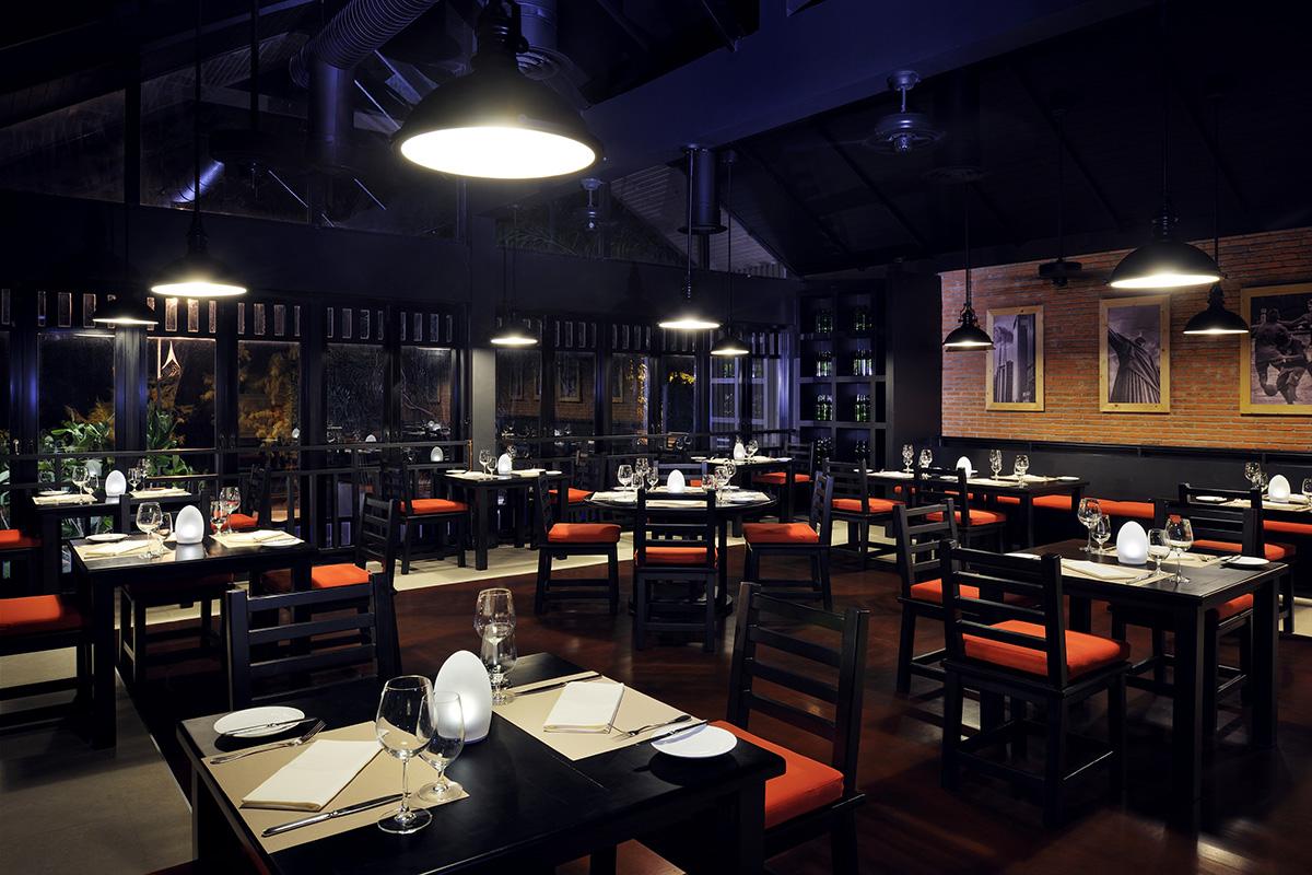 El Gaucho Steakhouse - Interior View
