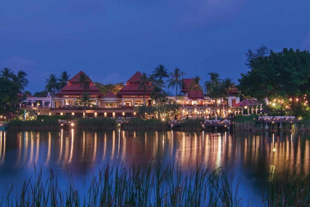 Banyan Tree Phuket - Panoramic View of Lobby