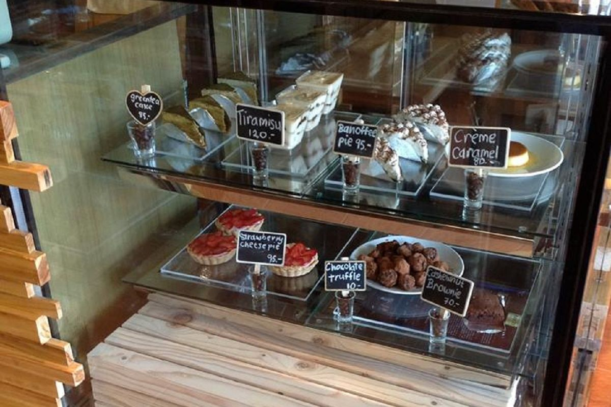Crust Restaurant - Dessert Selection