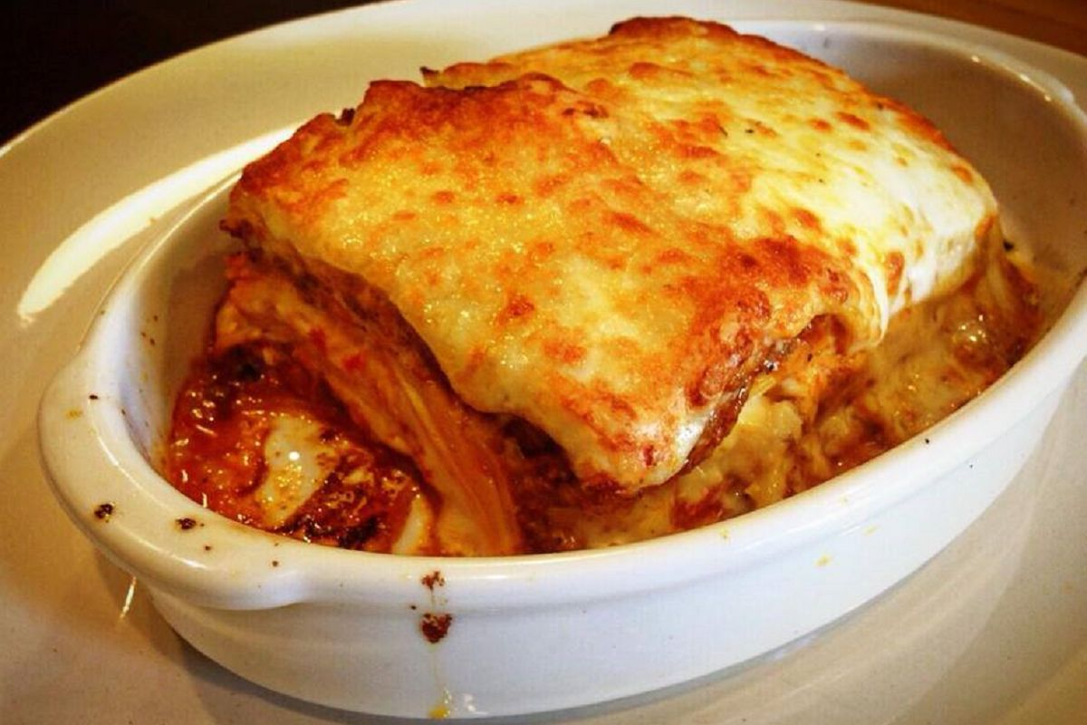 Crust Restaurant - Beef Lasagna