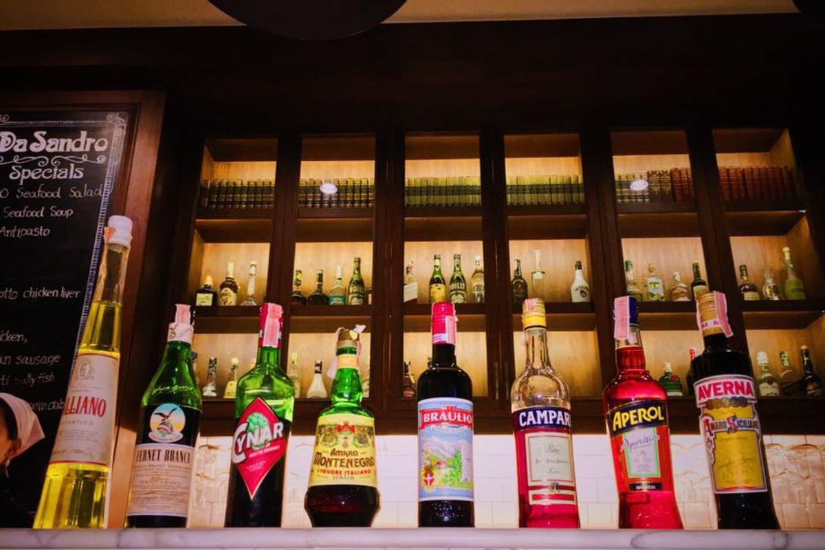 Da Sandro Restaurant - Main Bar