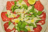 Da Sandro Restaurant - Beef Carpaccio