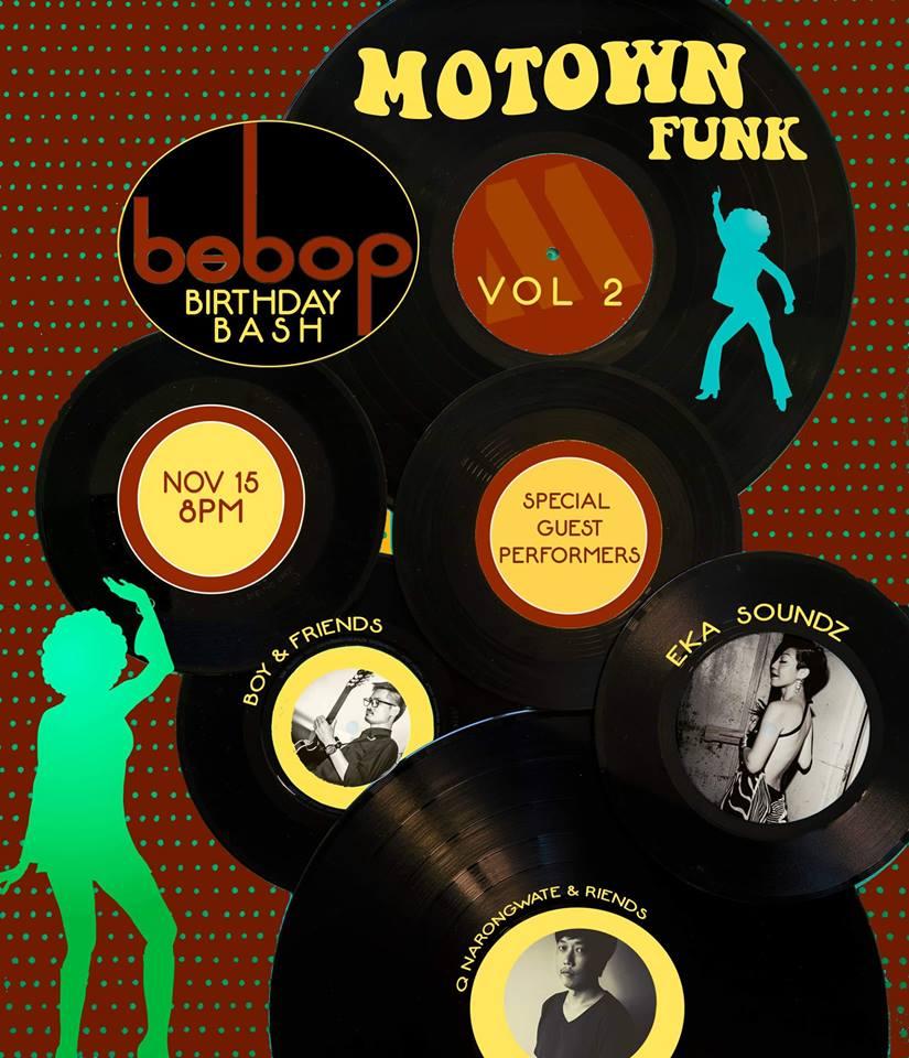 Bebop 2nd Anniversary Poster