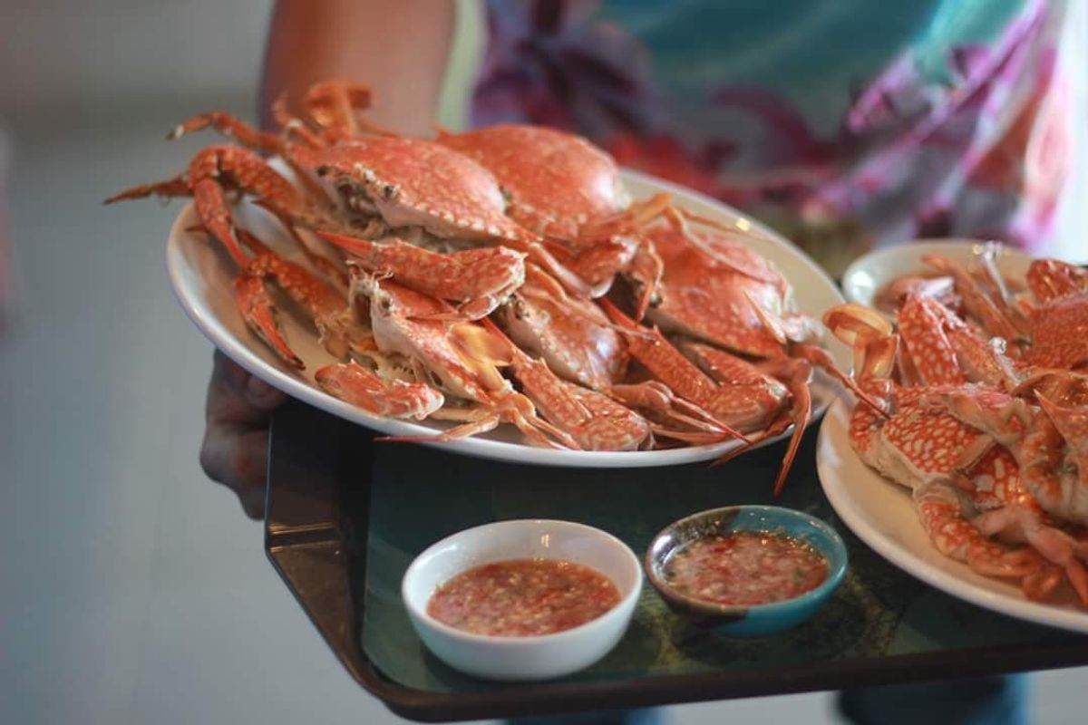 Fish Bar & Restaurant - Delicious crabs