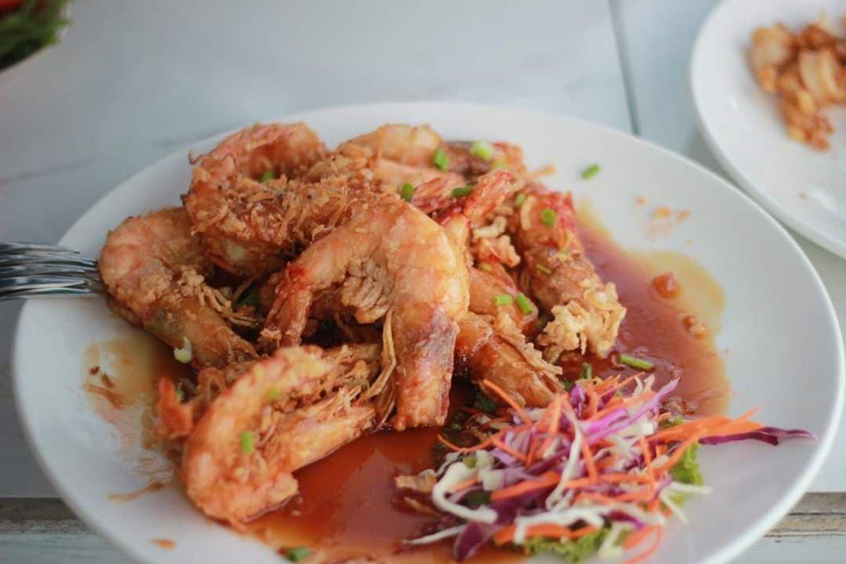 Fish Bar & Restaurant - Tamarind Prawns
