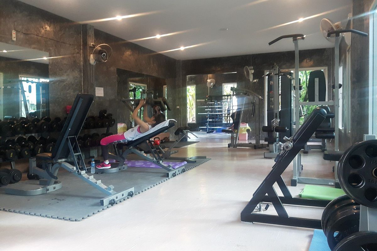 Fit Gun Gym - Interior View