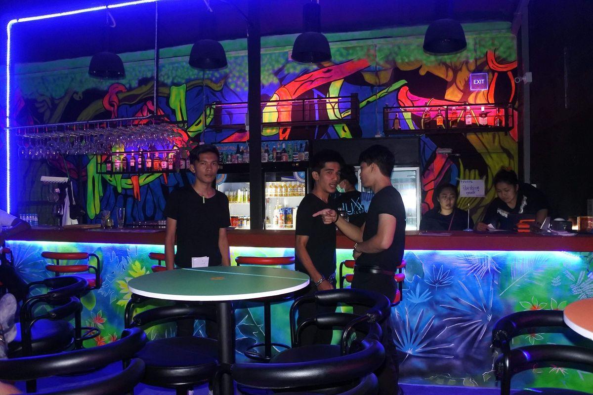 Luxx Club - Bar Area