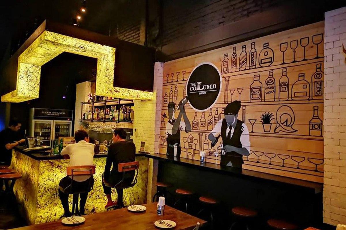 The Column Phuket - Main Bar