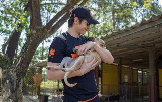 Peter Denman visits Soi Dog - 001