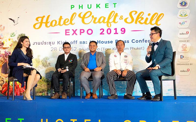 Phuket Hotel Craft & Skill Expo 2019 - 001