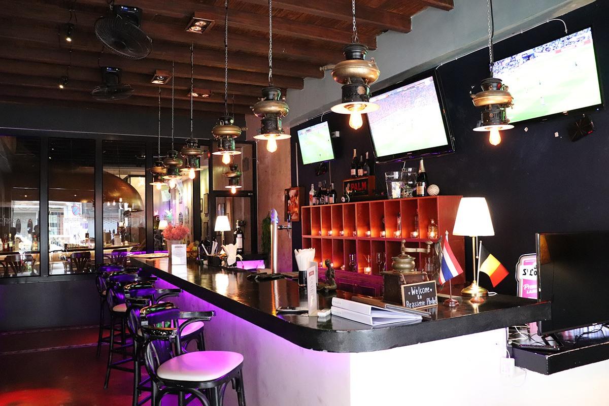 Brasserie Phuket - Exterior Bar 2