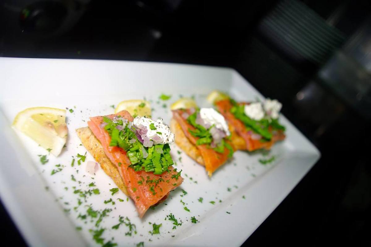 Brasserie Phuket - Salmon Toasts