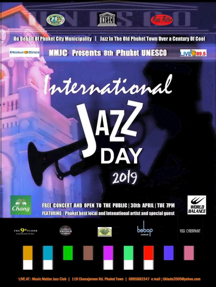 International Jazz Day 2019 - Flyer