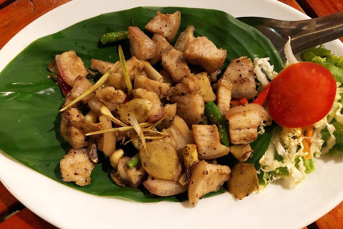 Phuket Andaman Camp - Chicken Turmeric