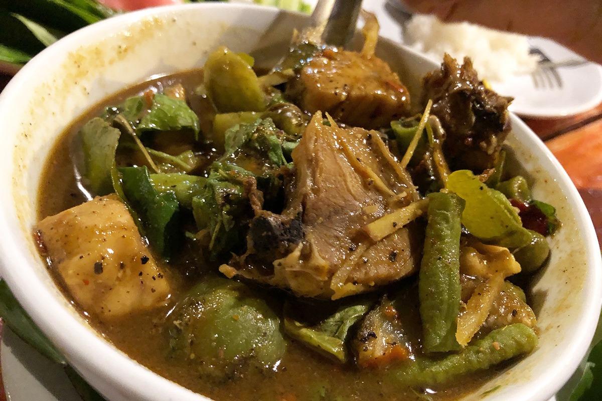 Phuket Andaman Camp - Fish Curry