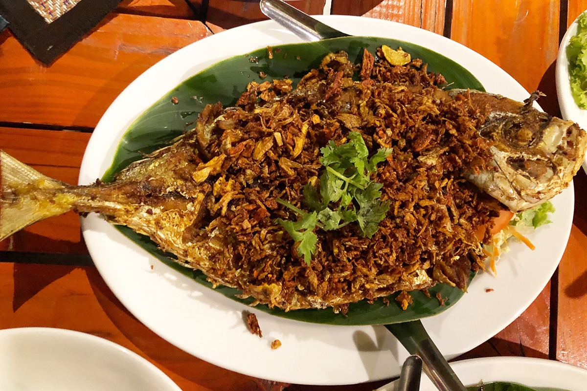 Phuket Andaman Camp - Whole Fish