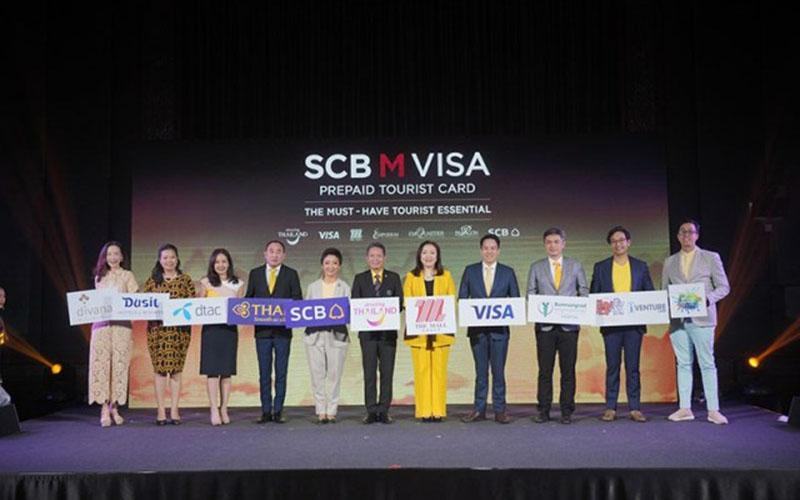 Visa Prepaid Tourist Card - 001