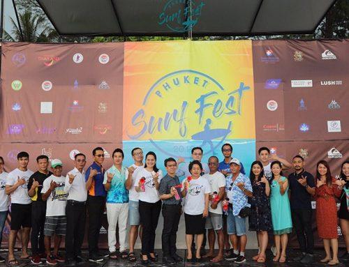 Phuket Surf Fest 2019 kicked off for low season