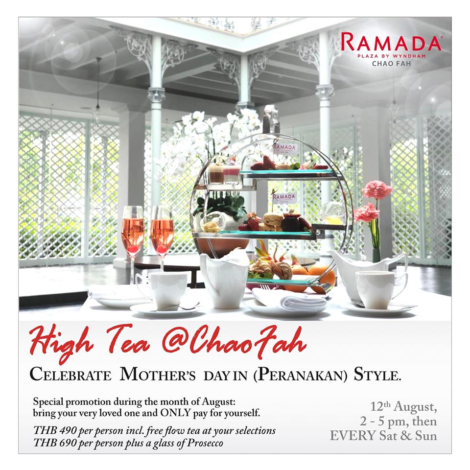 High Tea Chao Fah - Flyer