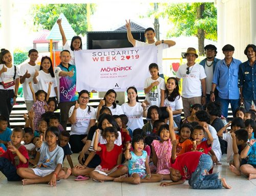 Mövenpick Resort & Spa Karon Beach Phuket celebrates Solidarity Week 2019