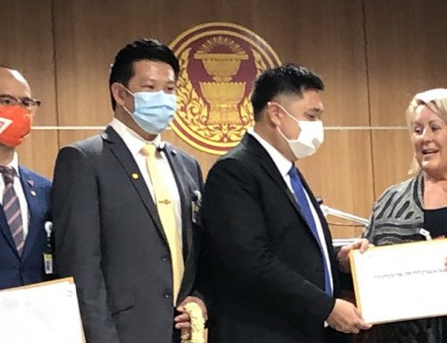 Animal activist petitions Thai government to help starving elephants