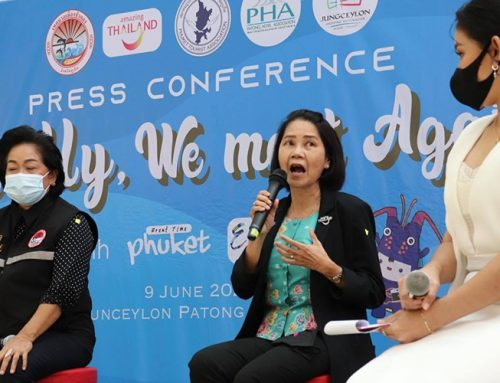 Phuket tourism representatives announce projects to revive the industry